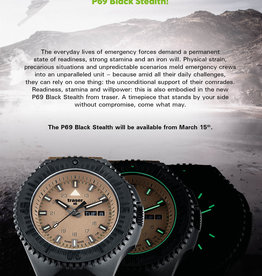Traser Watches Traser P69 Black Stealth