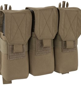 Warrior Assault Systems WARRIOR RECON PLATE CARRIER TRIPLE COVERED M4 MAG POUCH