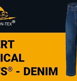 Helikon-Tex COVERT TACTICAL PANTS® - DENIM MID - VINTAGE WORN BLUE