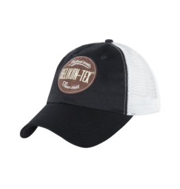 Helikon-Tex® Trucker Logo Cap - Cotton Twill - Black
