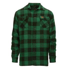 Houthakkers hemd       Zwart /  Groen