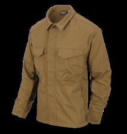 WOODSMAN Shirt® - Coyote / Taiga Green