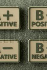 Helikon-Tex Blood Velcro Patch PVC  //  Set  van 2 stuks