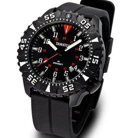 Tawatec E.O. Diver Tactical 200M rubber band Black