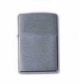 Zippo Brushed zilver
