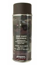 FosCo Industries Olive Drab RAL 6014 spuitbus legerverf sneldrogend 400ml 469312