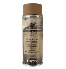 FosCo Industries WH Khaki Tropen spuitbus legerverf sneldrogend 400ml 469312