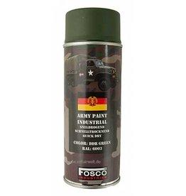 FosCo Industries DDR green RAL 6003 spuitbus legerverf sneldrogend 400ml 469312