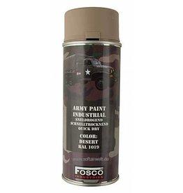 FosCo Industries Desert RAL 1019 spuitbus legerverf sneldrogend 400ml 469312