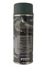 FosCo Industries Flat battleship grey RAL 7031 spuitbus legerverf sneldrogend 400ml 469312