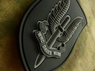 Velcro patch  Who Dares Wins - SAS