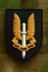 Velcro patch  Who Dares Wins - SAS Fullcolor JTG.SAS.fc