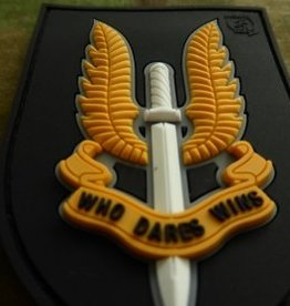 Velcro patch  Who Dares Wins - SAS Fullcolor JTG.SAS.fc