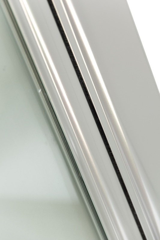 Douchedeur Bredviken 100 x 200 cm met deurknop