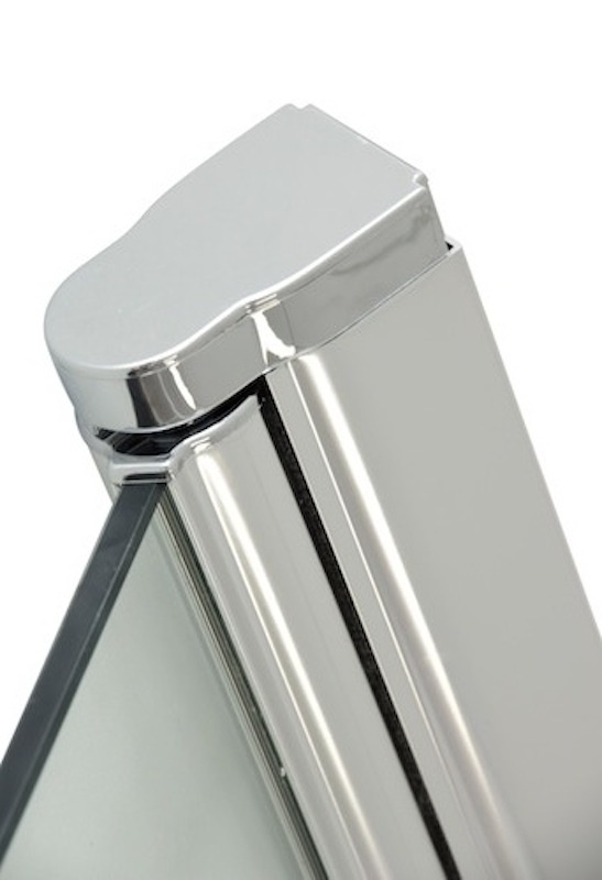 Douchedeur Bredviken 80 x 200 cm met deurknop