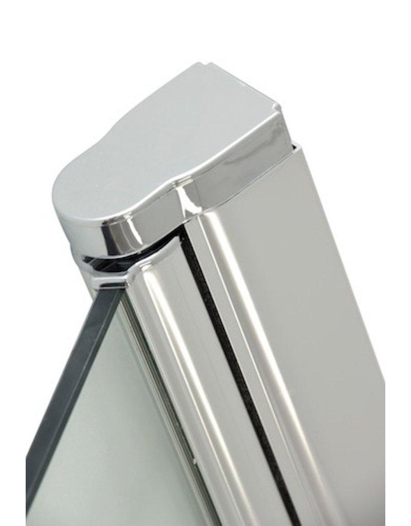 Douchedeur Bredviken 90 x 200 cm met deurknop