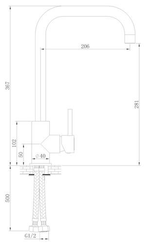 Sink / Küchenarmatur Skön Typ 1