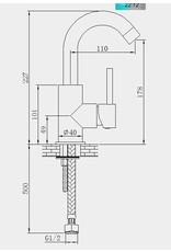 Waschbecken Ventilschicht Almvik (Showroom Modell)