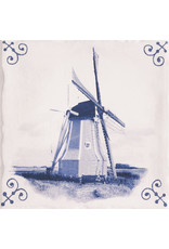 Mainzu Delft-blaue Fliese antike 15 x 15 cm