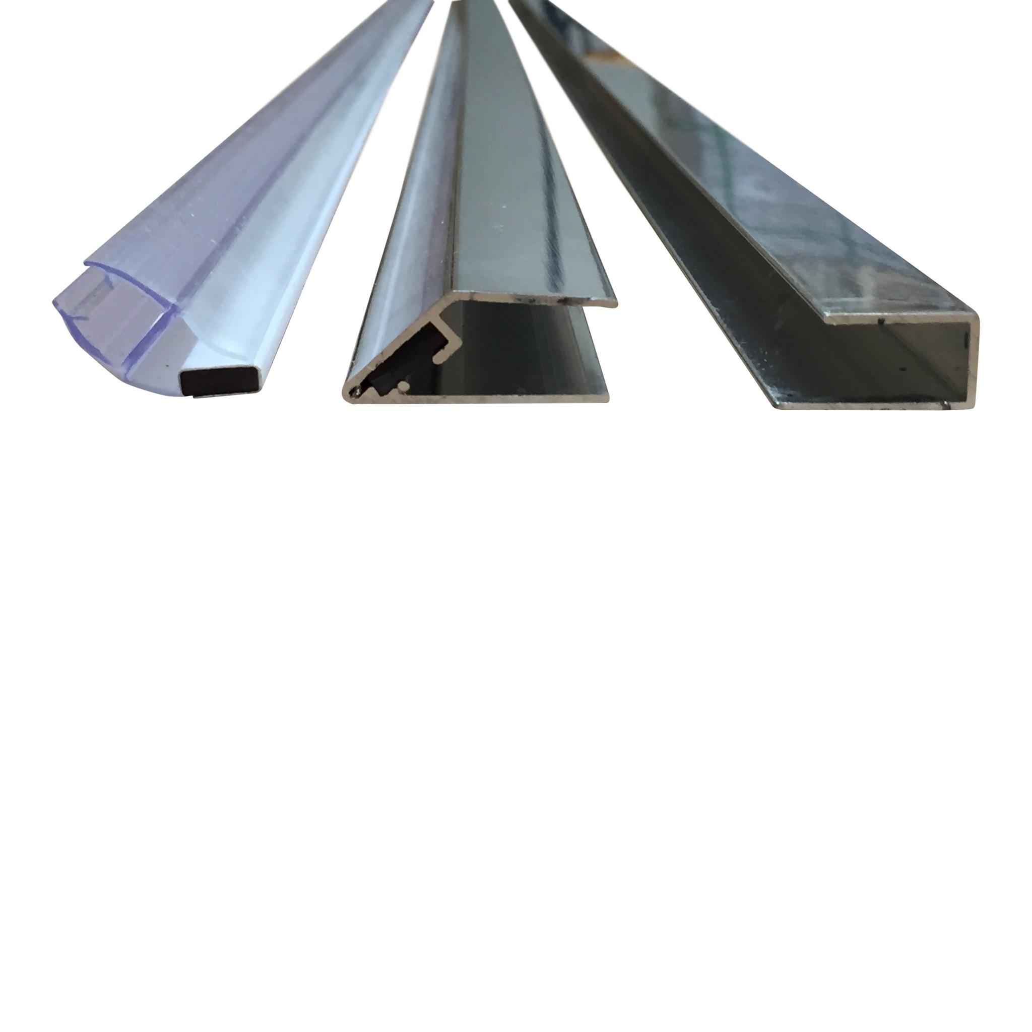 Magneetstrip muur 200 cm