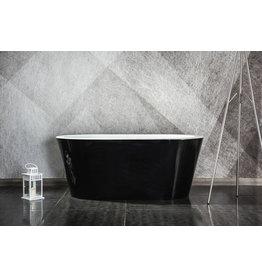 Design ligbad Riga 150 (zwart) (Showroommodel)