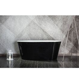 Linea Uno Design Badewanne Riga 150 (schwarz) (Model Showroom)