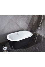 Linea Uno Design ligbad Riga 150 (zwart)