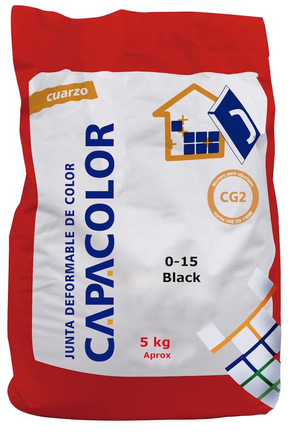 Capacolor voegmiddel (Zwart)