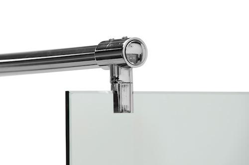 Linea Uno Begehbare Dusche Ludvika 120 x 200 cm