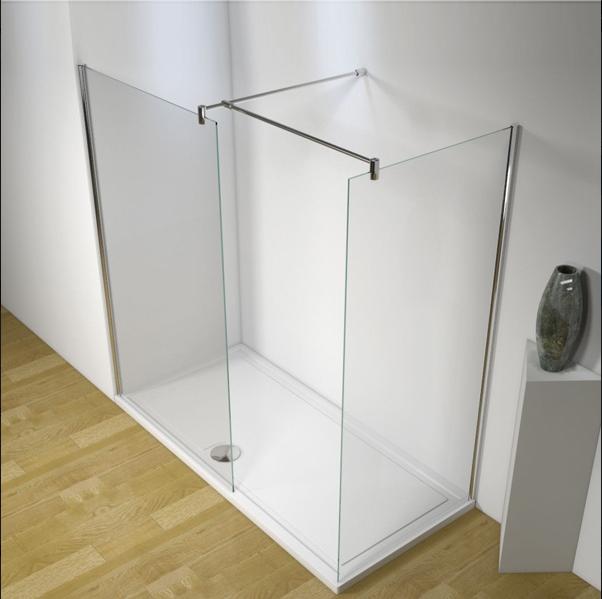 Linea Uno Begehbare Dusche Somlat 140 x 80 x 200 cm