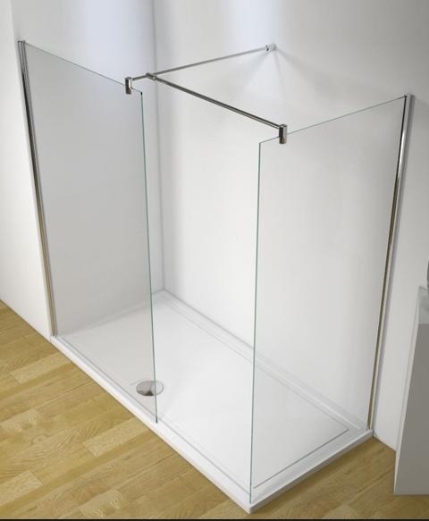 Linea Uno Begehbare Duschkabine Somlat 180 x 120 x 200 cm