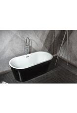 Linea Uno Designer Bad Teika 150 (schwarz)