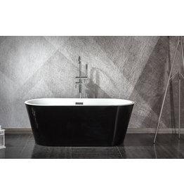 Design ligbad Teika 150 (zwart)