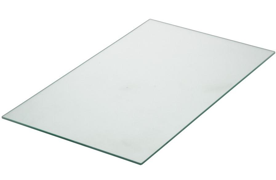 Linea Uno Glasplaat 10mm helder glas 140 x 200 cm