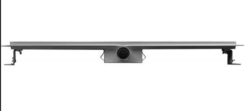 Linea Uno 3G ECO douchegoot compleet met flens en Sifon 80x7cm
