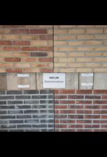 Samples van baksteenstrips