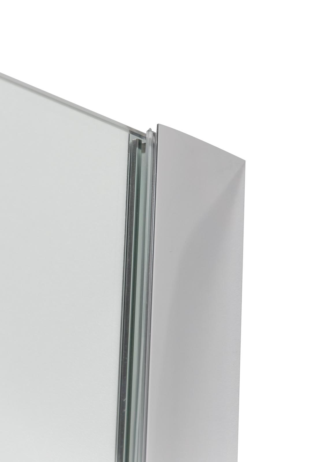 Linea Uno Set Gšteborg 120 x 200 cm + Tulta Seitenwand 35 x 200 cm
