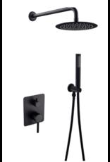 Linea Uno Doucheset inbouw Misi (zwart)