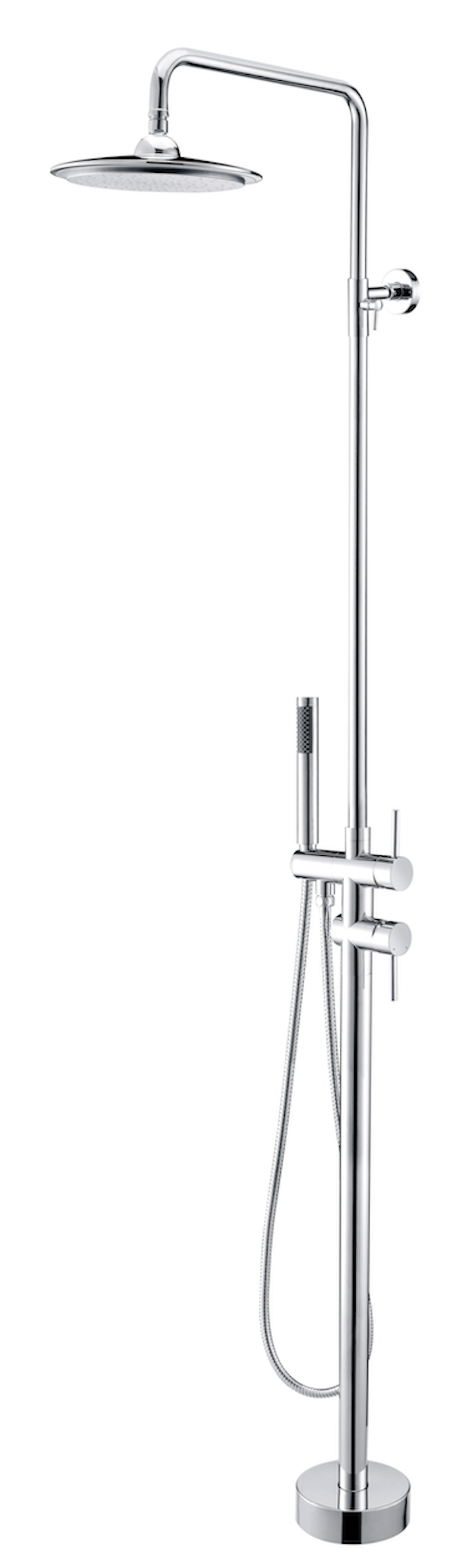 Brausegarnitur Struktur Jurva (Chrom)