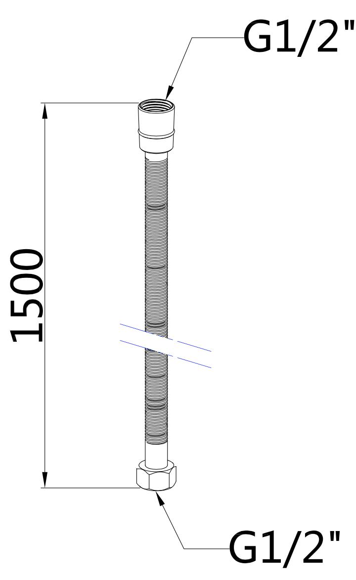 Doucheset inbouw Hobro (RVS)
