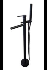 Linea Uno Vrijstaande kraan Lagan (Zwart)