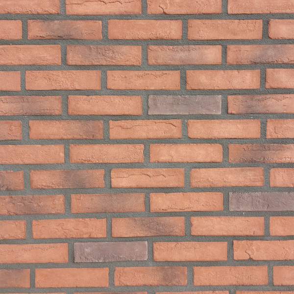 Linea Uno Hoekstuk baksteenstrip Sneek