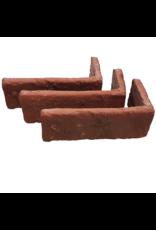 Hoekstuk baksteenstrip Brakel