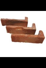 Hoekstuk baksteenstrip Oldenhove