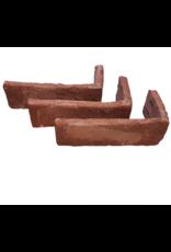 Hoekstuk baksteenstrip Merum