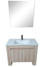 Linea Uno Badkamermeubel Gustavsberg 100 (Showroommodel)