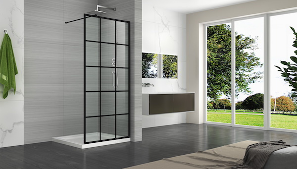 Linea Uno Begehbare Dusche Mevik 100 x 200 cm - Copy