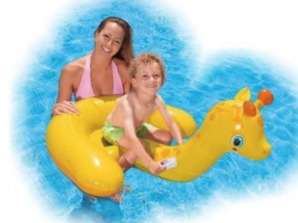 Intex -  Baby Giraffe -  Ride-On 132x107cm - FB