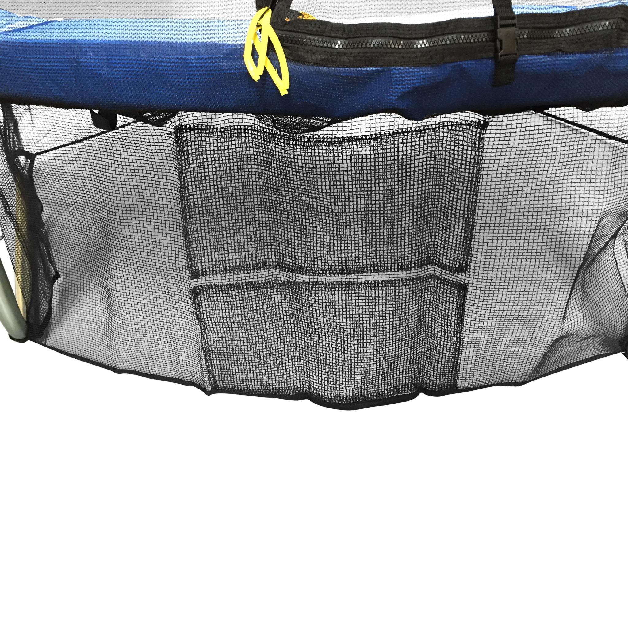Veiligheidsnet voor onder trampoline - 244 cm - Ondernet - FB