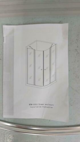 Duschkabine Falun 87 x 87 cm - Copy